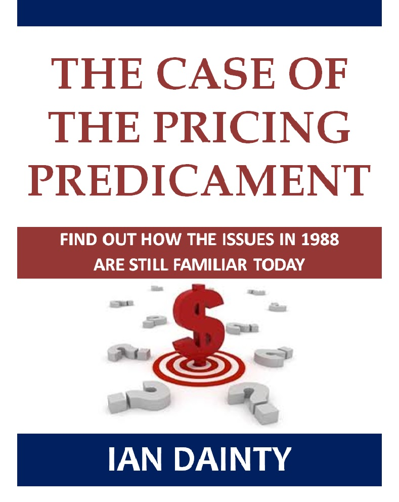 case of the pricing predicament week Climate change and the 'fire insurance predicament penned an opinion article that appeared just over a week ago in the san diego tribune that the worst-case.